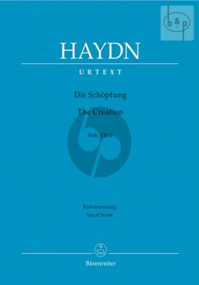 Haydn Die Schopfung (The Creation) Hob.XXI:2 Vocal Score (edited by Annette Opermann) (Barenreiter-Urtext) (germ./engl.)