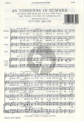 Elgar As Torrents in Summer SATB