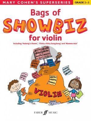 Cohen Bags of Showbiz for Violin (grade 2-3)