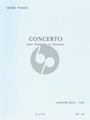 Tomasi Concert Trompette et Orchestre Partition de Poche
