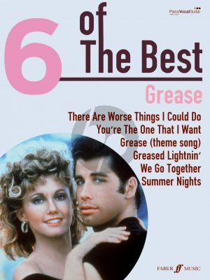 Jacobs-Casey Grease 6 of the Best (Piano-Vocal-Guitar)