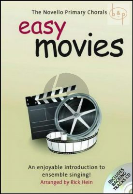 Easy Movies (The Novello Primary Chorals) (Unison- 2 Part)
