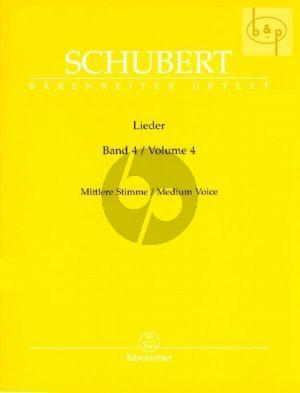 Lieder Vol. 4  Mittel / Medium