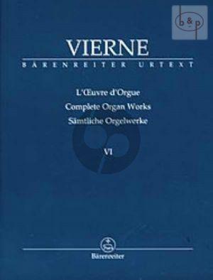 Symphonie No.6 Op.59 (1930) (Samtliche Orgelwerke Vol.6)