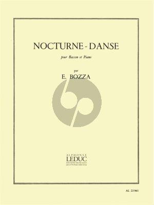 Bozza Nocturne et Danse Basson et Piano (Kiddush)