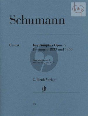 Impromptus Op.5 (Fassungen 1833 + 1850)