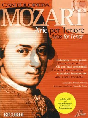 Arias for Tenor (Tenor Voice-Piano)