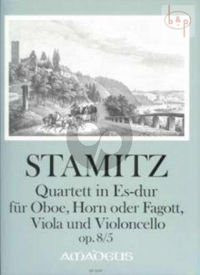 Quartett Es-dur Op.8 No.5 (Oboe-Horn[F]-Va.-Vc)