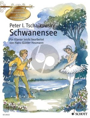 Tchaikovsky Schwanensee Op.20 Piano (easy arr. by H.G.Heumann) (with illustr.)