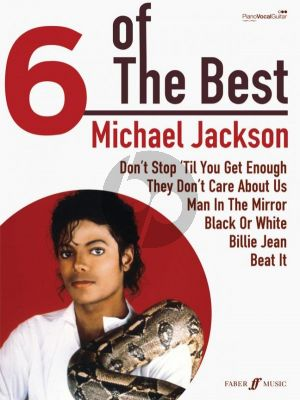 6 of the Best Michael Jackson Piano-Vocal-Guitar