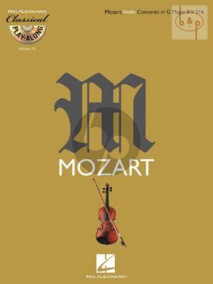 Violin Concerto G-major KV 216