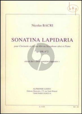 Sonatina Lapidaria Op.108 No.2