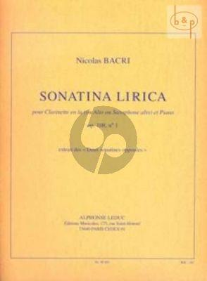 Sonatina Lirica Op.108 No.1