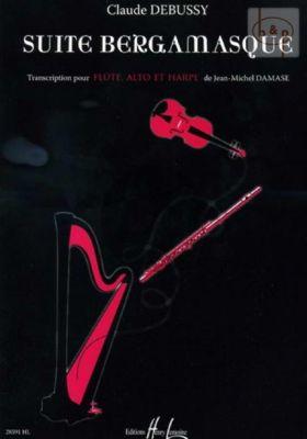 Suite Bergamasque (Flute-Viola-Harp)