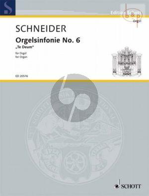 Orgelsinfonie No.6 Te Deum