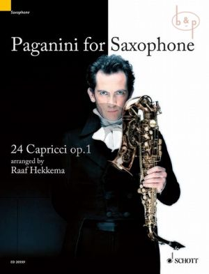 Paganini for Saxophone 24 Capricci Op.1