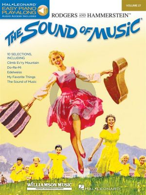 Sound of Music (Easy Piano CD Play-Along Vol.27) (Bk-Audio Access Code)