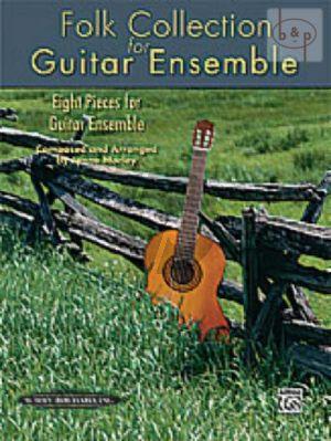 Folk Collection for Guitar Ensemble (4 Guitars)