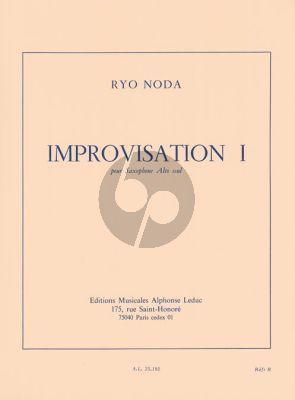 Noda Improvisation I Saxophone alto