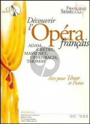 Decouvrir l'Opera Francais (Voix Tenor)