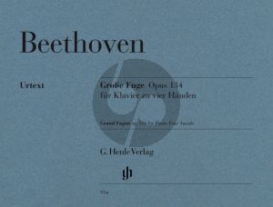 Beethoven Grosse Fuge Op.134 Klavier 4 hd (edited by Ernst Herttrich) (Henle-Urtext)