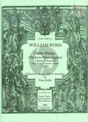 Christ Rising - Christ is Risen Againe (Voices[Viols or Recorders])