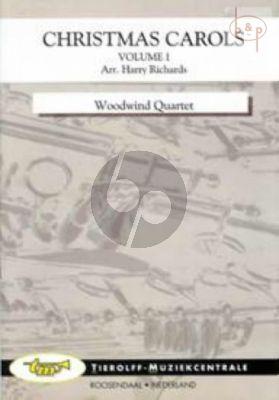 Christmas Carols Vol.1 (Flute[Oboe]- 2 Clar.[Bb]- Bassoon-Bb Bass Clar.[opt.])