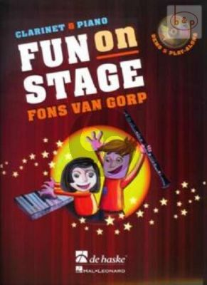 Fun on Stage (Clarinet-Piano) (Bk-Cd)