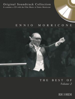 Best of Morricone Vol.3 (Book and a CD which contains the Film Music of Ennio Morricone)