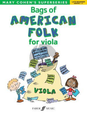 Cohen Bags of American Folk for Viola (Late Beginner Grades 1 - 2)