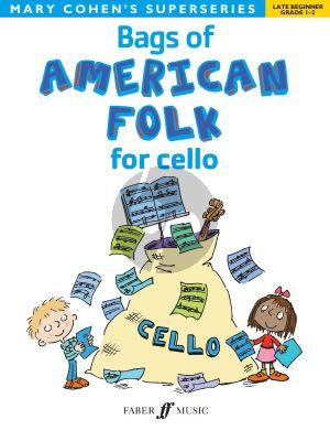 Cohen Bags of American Folk for Cello (Late Beginner Grades 1 - 2)