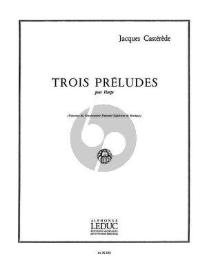 3 Preludes pour Harpe