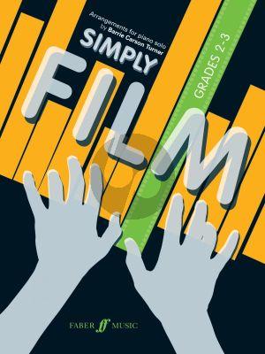 Simply Film Piano solo (arr. Barrie CarsonTurner) (grades 2-3)