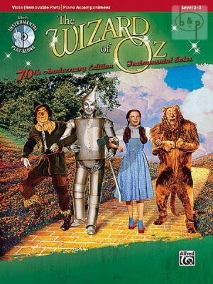 The Wizard of Oz (Viola with Piano Accomp.)