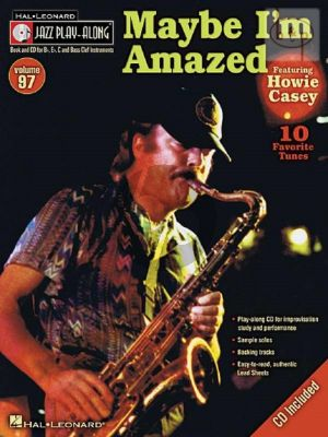 Maybe I'm Amazed (Jazz Playalong Series Vol.97)