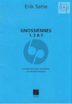 3 Gnossiennes Accordion