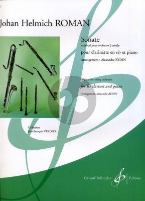 Roman Sonate Clarinette-Piano (orig. for String Orch.) (arr. A.Rydin) (adv.) (grade 8)