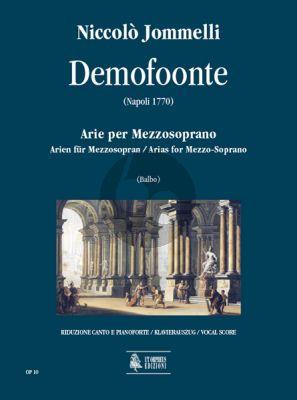 Jommelli Demofoonte - Arias for Mezzo-Soprano with Piano (edited by Tarcisio Balbo)
