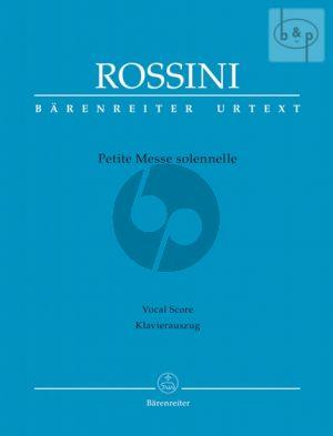 Petite Messe Solennelle (SATB soli-SATB choir- 2 Piano's-Harm.) (Vocal Score) (lat.)