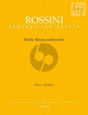 Petite Messe Solennelle (Voice-SATB-Piano- Harmonium) (Full Score) (lat.)