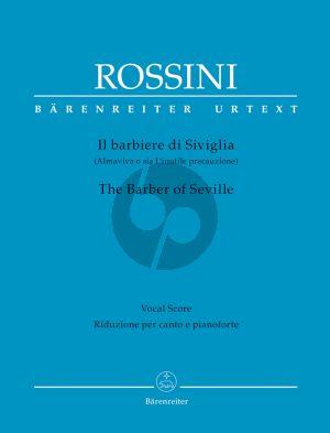 Rossini Il Barbiere di Siviglia Vocal Score (ital./engl.) (edited by Patricia Brauner)