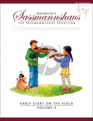 Early Start on the Viola Vol.3