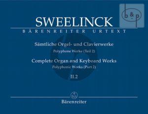 Samtliche Orgel- & Clavierwerke Vol.2 Teil 2 (Polyphone Werke Teil 2)