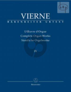 Messes et Pieces Isolees Liturgiques (Complete Organ Works Vol.9)