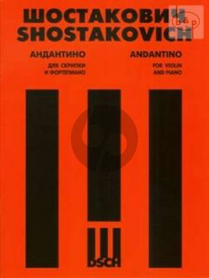 Andantino from String Quartet No.4