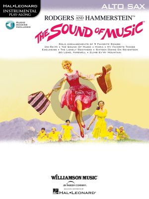 The Sound of Music for Alto Saxophone (Book with Audio online)