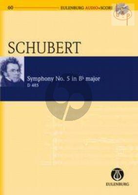 Symphony No.5 D.485 B-flat major (Study Score with Audio CD)