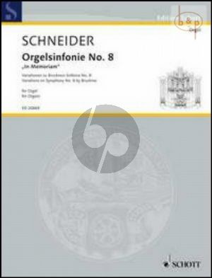 Orgelsinfonie No.8 In Memoriam