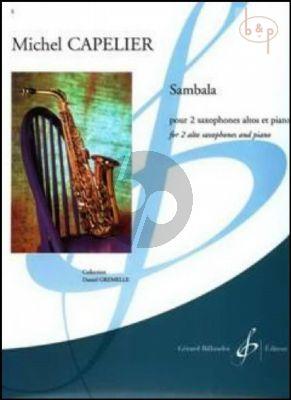 Sambala (2 Alto Sax.-Piano) (Score/Parts)