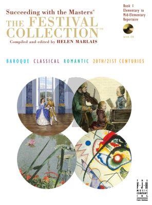 Marlais Festival Collection Vol.1 for Piano (Bk-Online Audio)